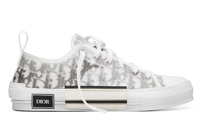 Kim Jones Dior B23 Oblique Sneakerboy Raffle Unlaced Right Side Shot2 Jpg