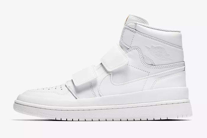 Air Jordan Double Strap White 2