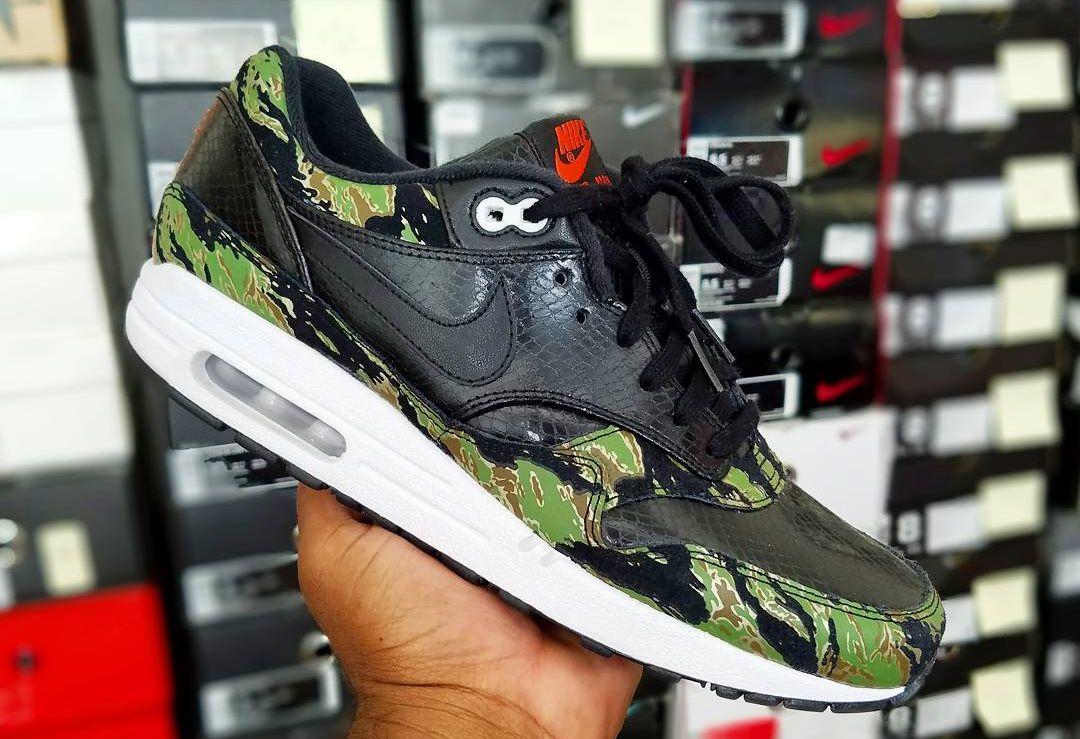 atmos x Nike Air Max 1 'Tiger Camo'