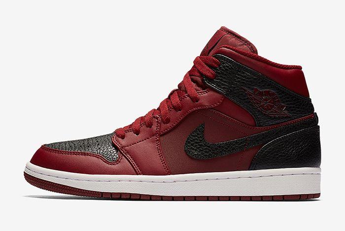 Air Jordan 1 Mid Reverse Bred Sneaker Freaker 1