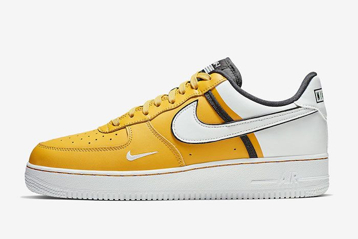 Nike Air Froce 1 Low 07 Lv8 Yellow Left
