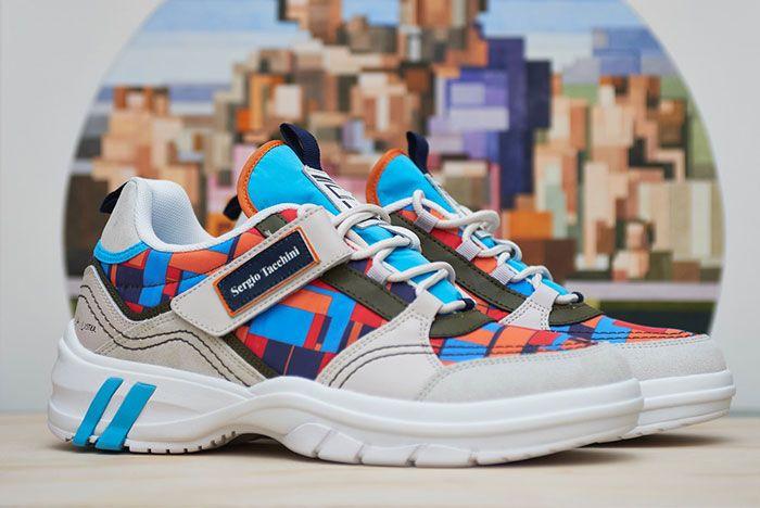 Adam Lister Sergio Tacchini Power Model Fall Winter 19 Sneaker Collaboration2