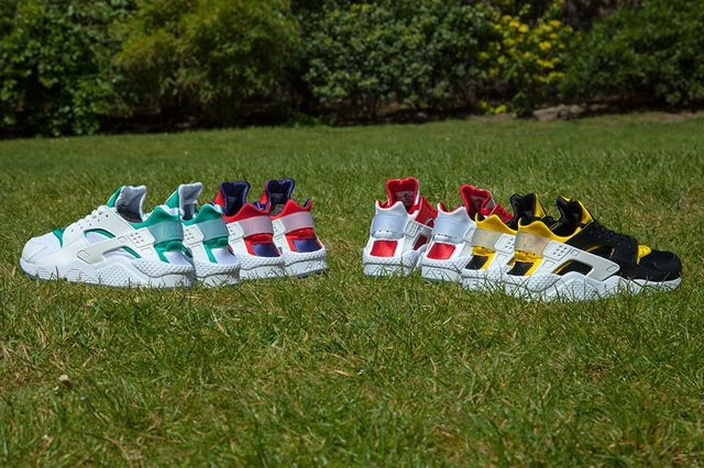 Nike Air Huarache City Pack Bumper 9