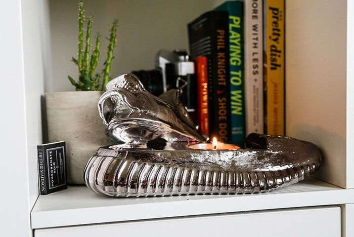 Ceeze Yeezy Sculptures Sillver Rose Gold Candle4