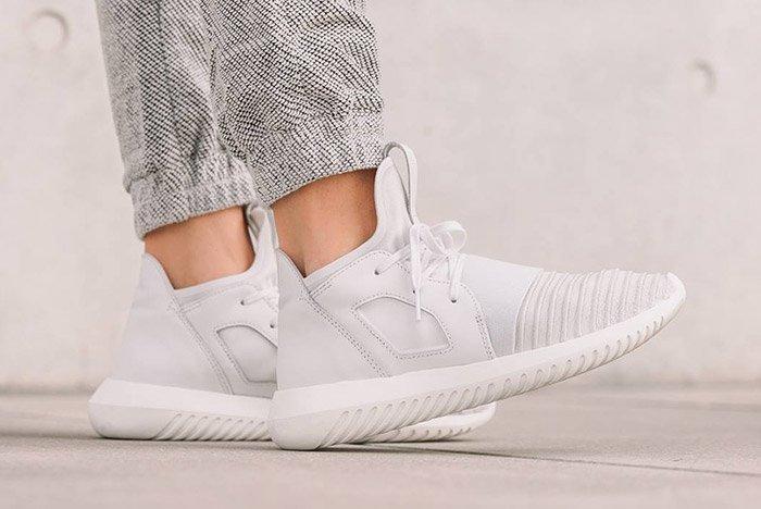 Adidas Tubular Defiant Womens Crystal White 1