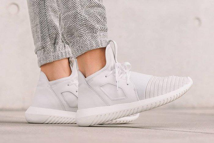 Adidas Tubular Defiant Womens Crystal White 1