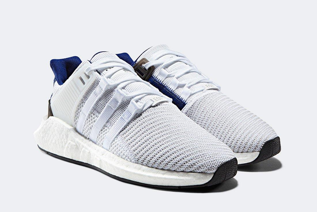 Adidas Eqt Support 93 17 White Blue 2