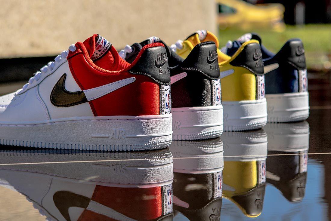 Nike Nba Air Force 1 Low Heel Angle Shots