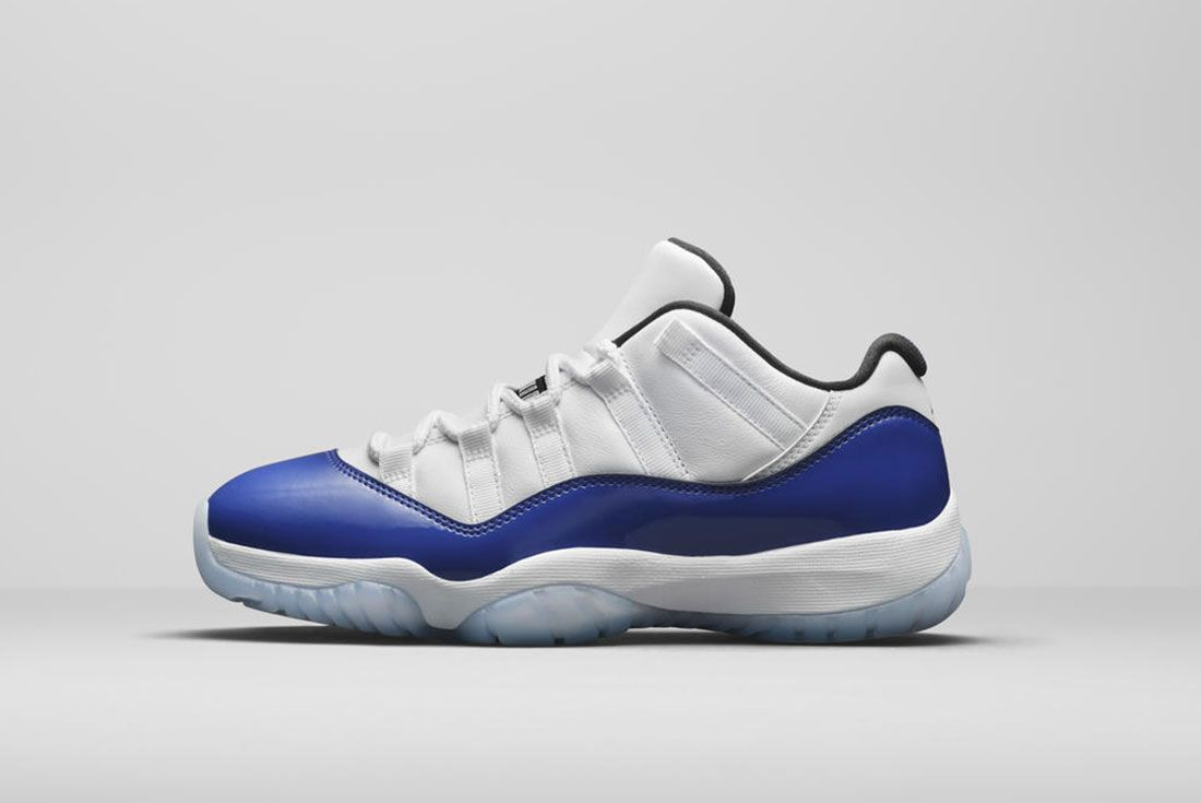 Jordan Brand Summer 2020 Air Jordan 11 Low Blue Concord Lateral