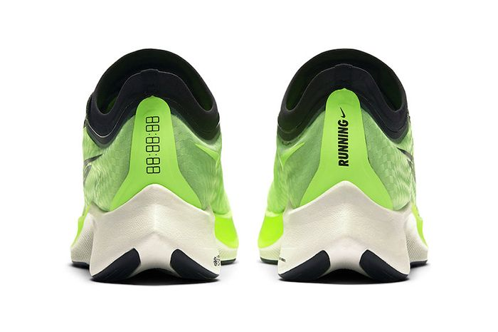 Nike Zoom Fly 3 Electric Green At8240 300 Release Date Heel