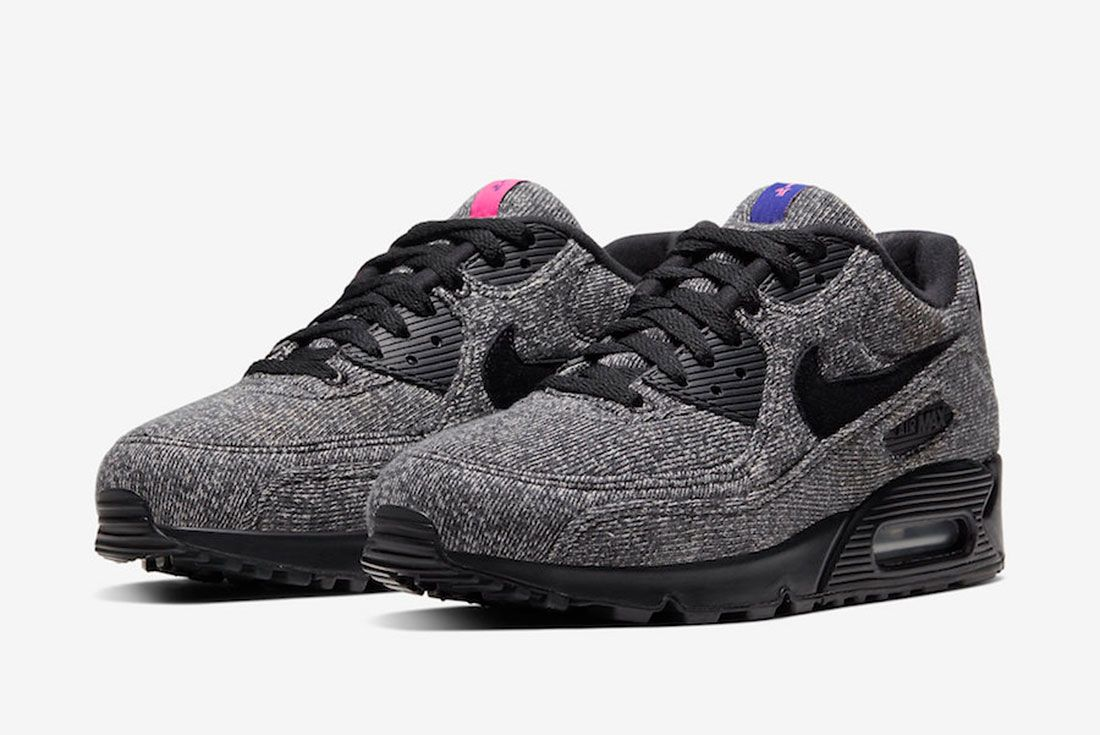 Loopwheeler Nike Air Max 90 Cq7854 001 Release Date 4Official