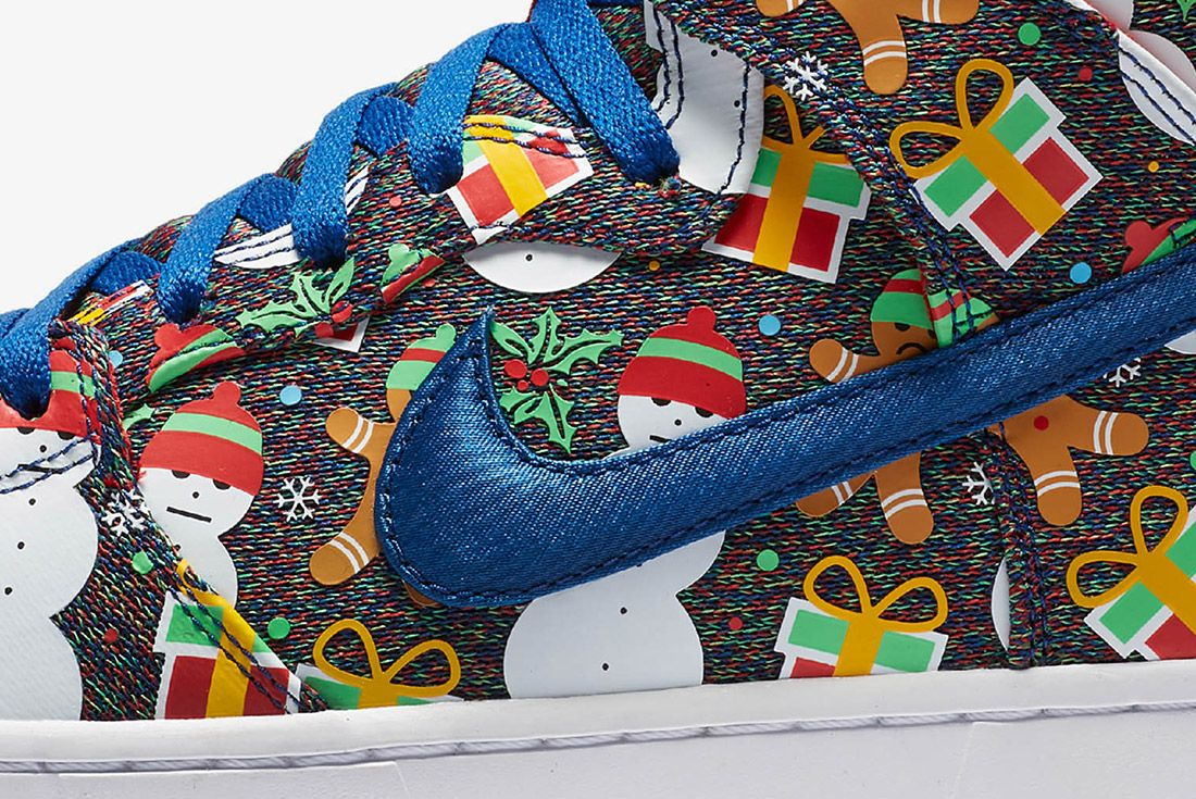 Conceptsnike Sb Ugly Christmas Sweater Dunk 10