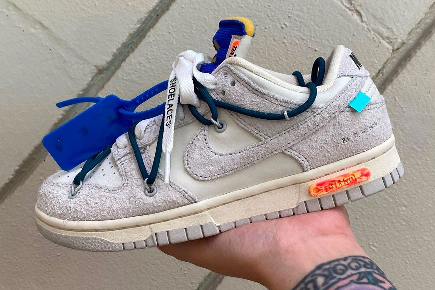 Off-White Nike Dunk Low 16 of 50
