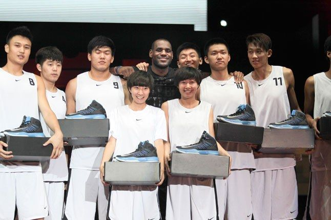 Lebron James China Tour 1