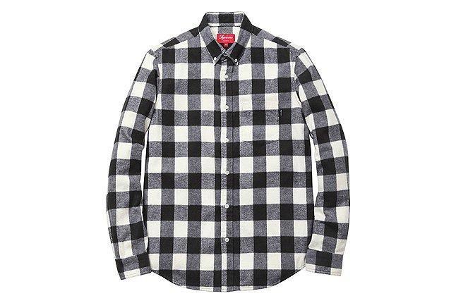 Supreme Buffalo Waxed Cotton Shirt 1