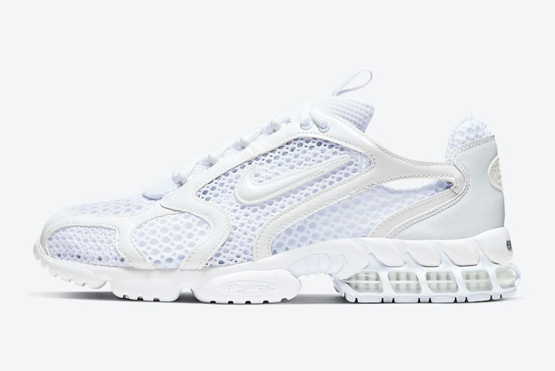 Nike Air Zoom Spiridon Caged White Lateral