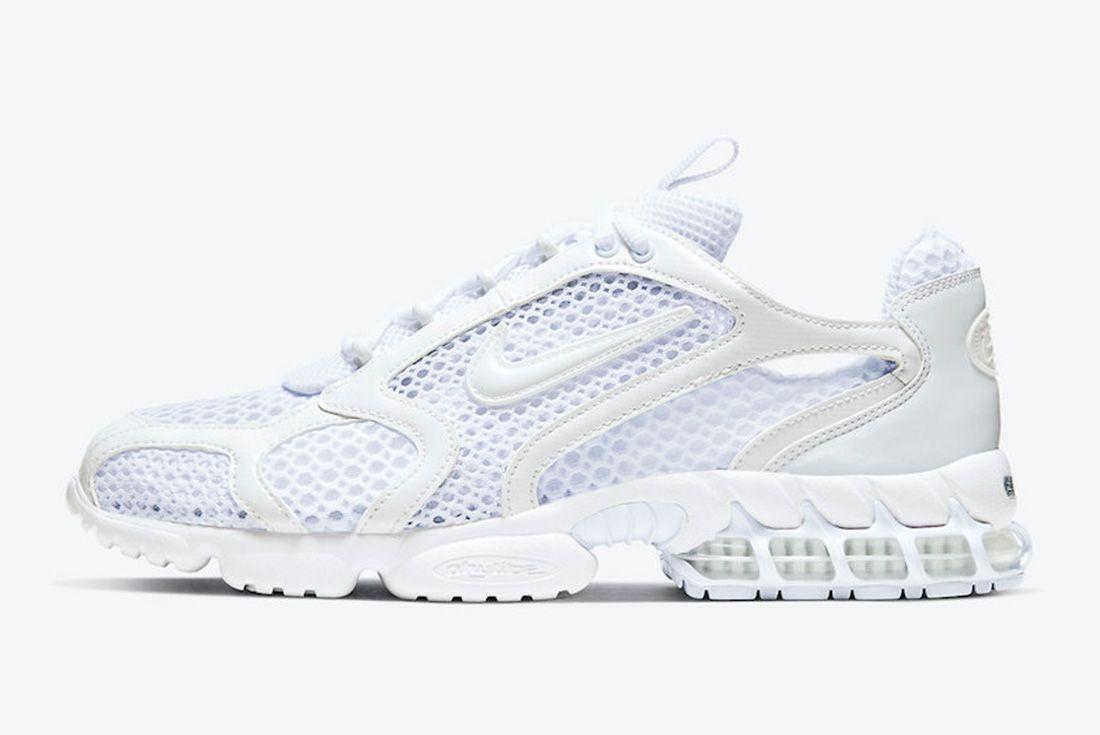 Nike Air Zoom Spiridon Caged White Lateral