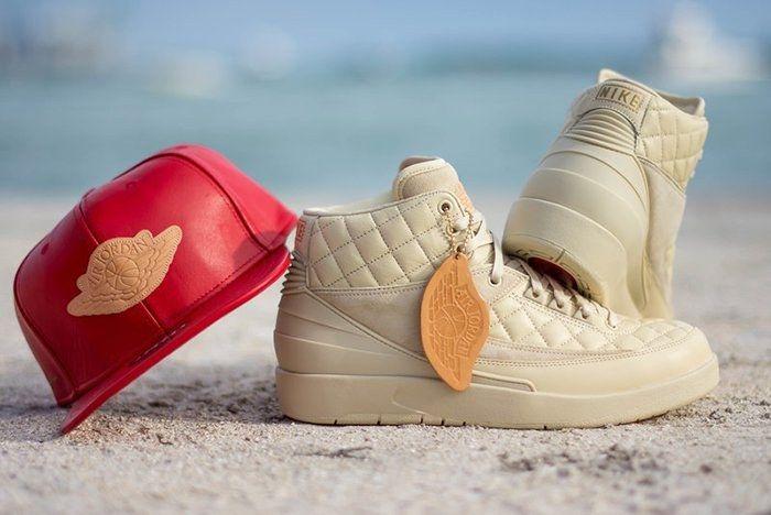 Just Don X Air Jordan 2 Beach3