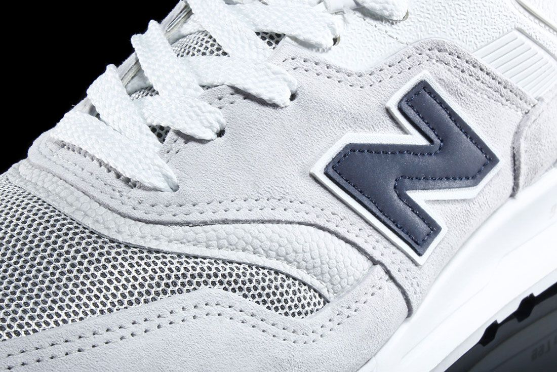 New Balance 997 – Made In Usa Pebbled White 2