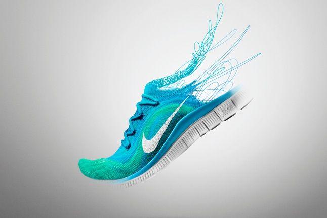 Nike Free Flyknit Blue Promo