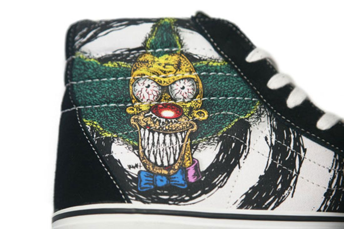 The Simpsons Vans Krusty 2007
