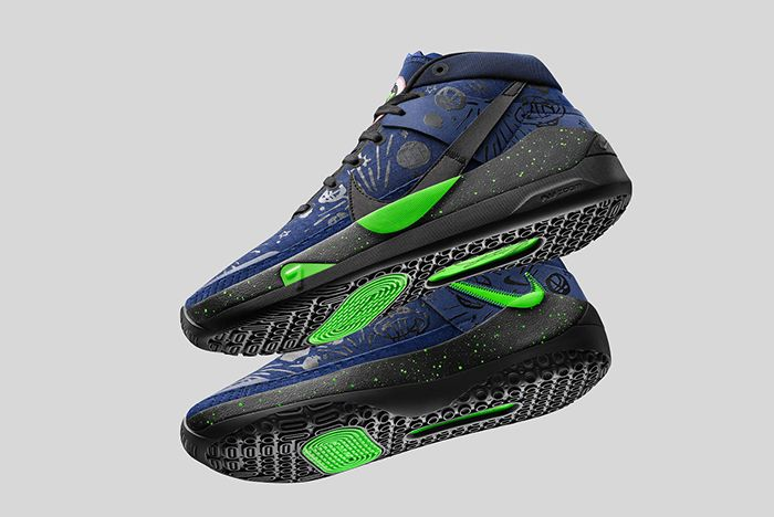 Nike Kd 13 Cnavy Green