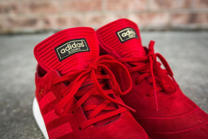 Adidas Busenitz Pure Boost Red2
