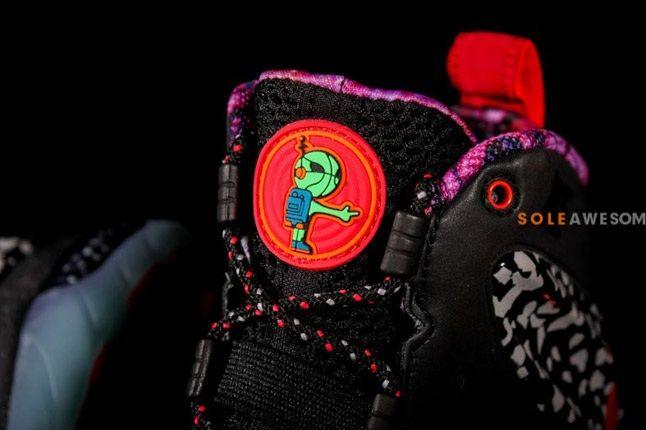 Nike Barkley Posite Max Galaxy Raygun Tongue 1