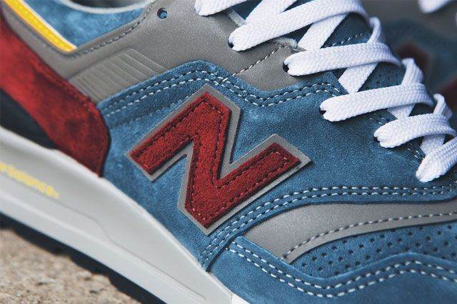 New Balance 997 Burgundy Teal 6