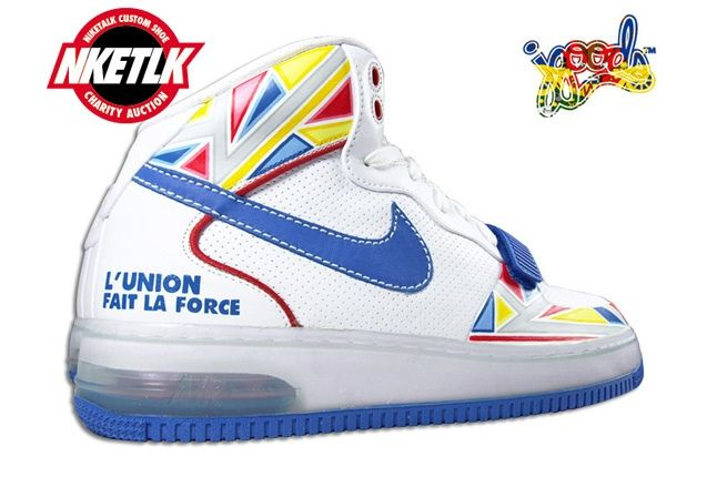 Niketalk Charity Custom Nike Force Jgoods 2 1