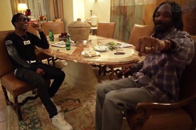 Asap Rocky Snoop Lion