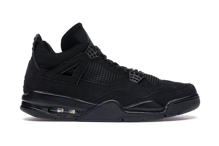 Air Jordan 4 Black Cat 2020 Retro Leak Release Date Lateral