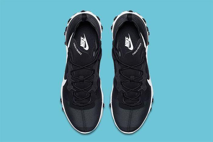 Nike Element React Black White 2