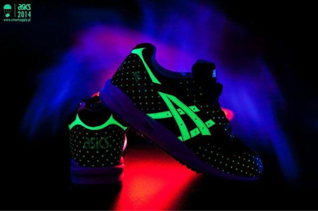 Glow In The Dark Asics 1