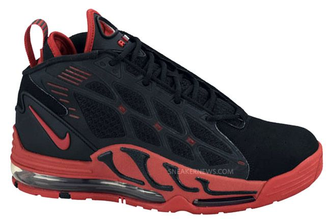 Nike Air Max Pillar Black Sport Red Profile 1
