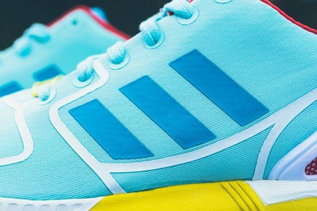 Adidas Zx Flux Techfit Og Aqua Yellow 2
