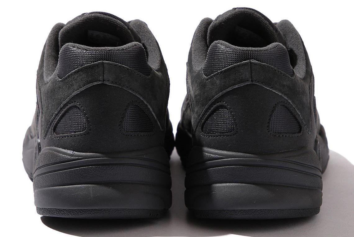 Beams Adidas Yung 1 Black Heel Shot 3