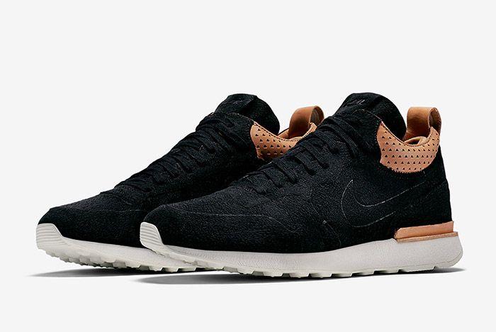 Nike Internationalist Mid Royal Black 4