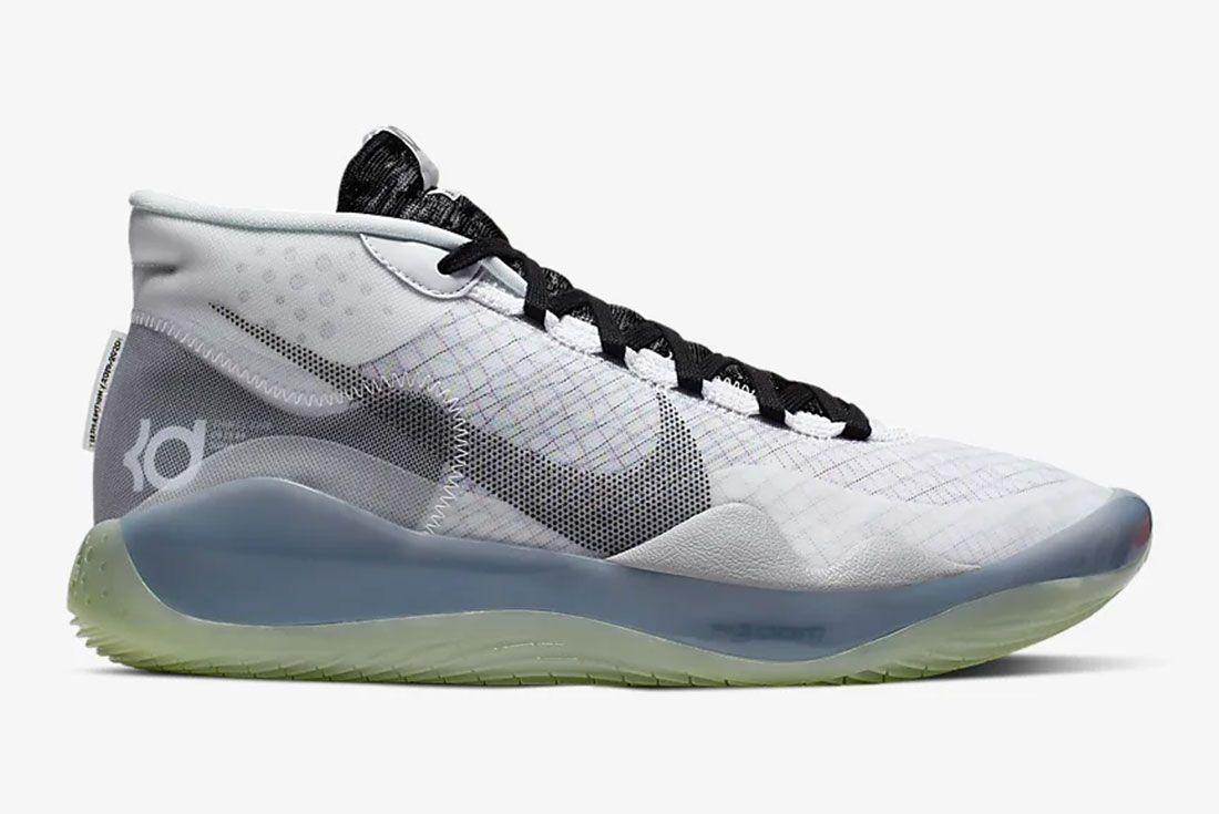 Nike Kd 12 Gear Up Black White Side1