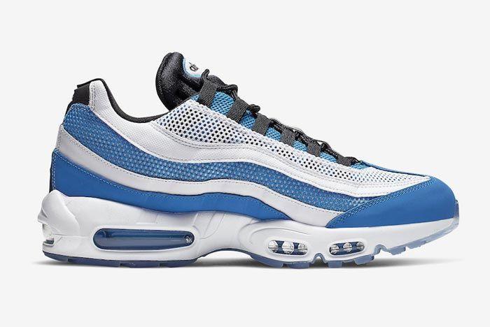 Nike Air Max 95 Essential Blue White Medial