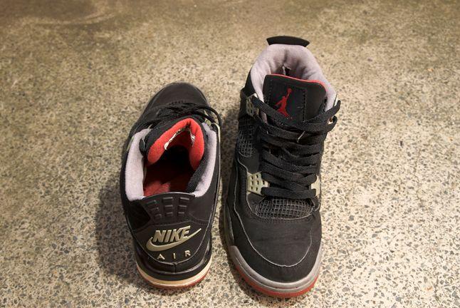 Nike Air Jordan Iv Red Black 1