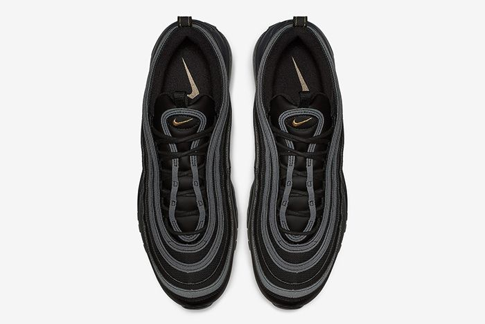 Nike Air Max 97 Black And Gold 7