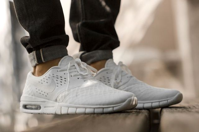 Nike Sb Eric Koston White Silver 4