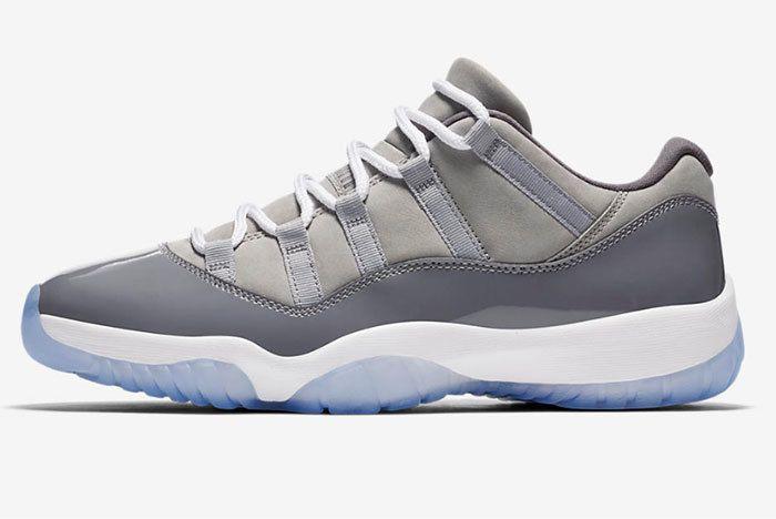 Air Jordan 11 Low Cool Grey 2 Sneaker Freaker