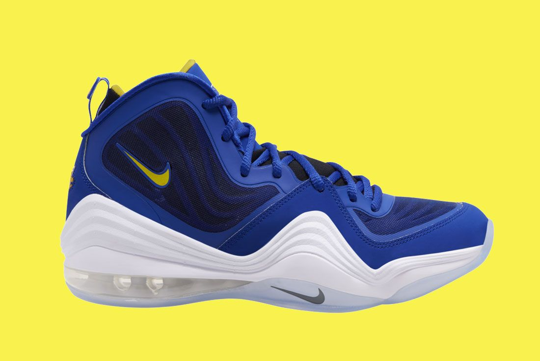 Nike Air Penny 5 Blue Chips 537331 402 Release Date On White