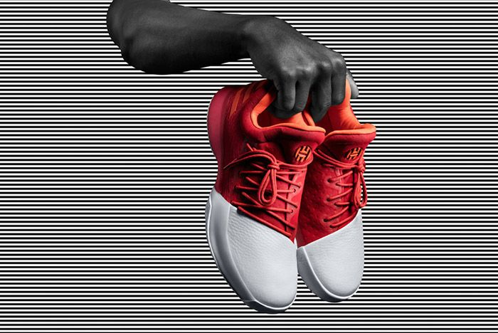 Adidas Harden Vol 1 Red 2