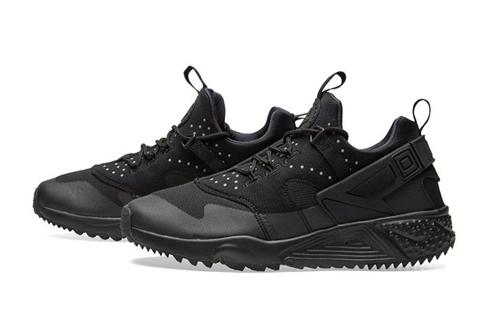 Nike Air Huarache Utility Black 3