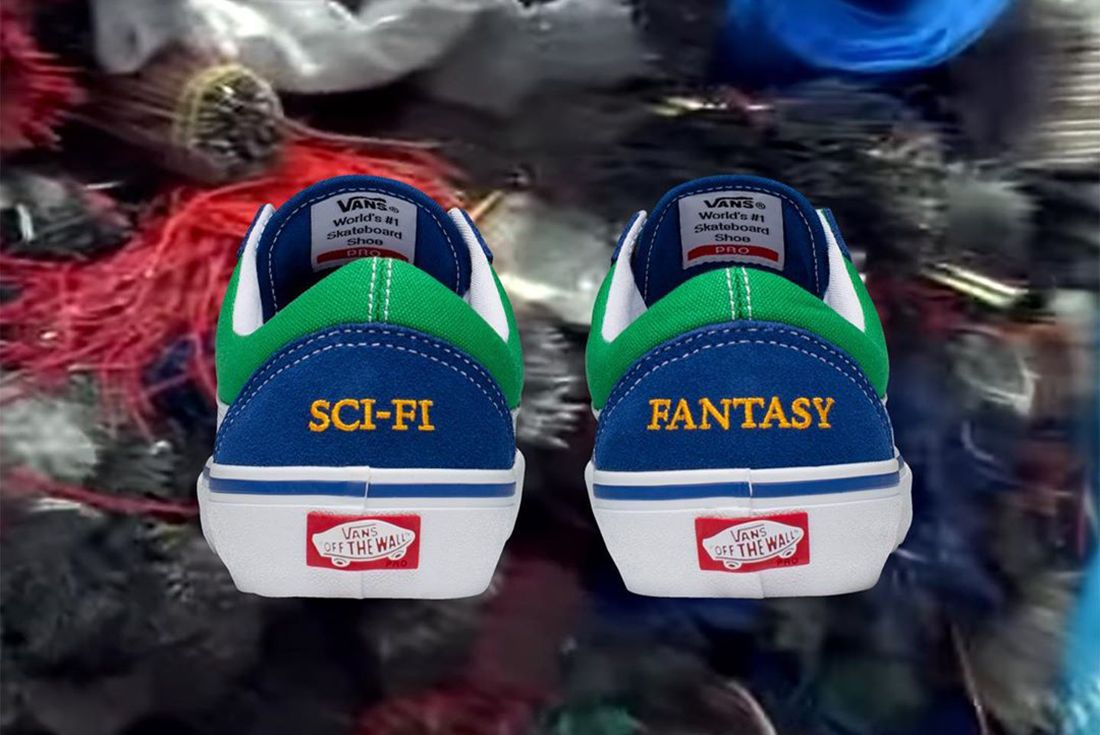 Sci-Fi Fantasy Vans Old Skool Heel