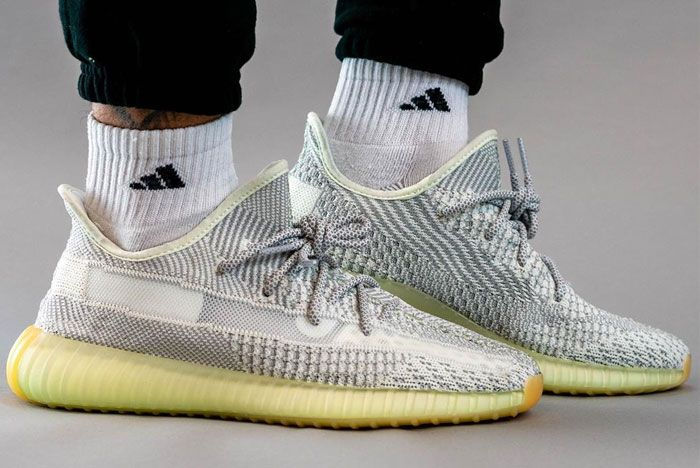 Adidas Yeezy 350 V2 Yeshaya On Foot Right