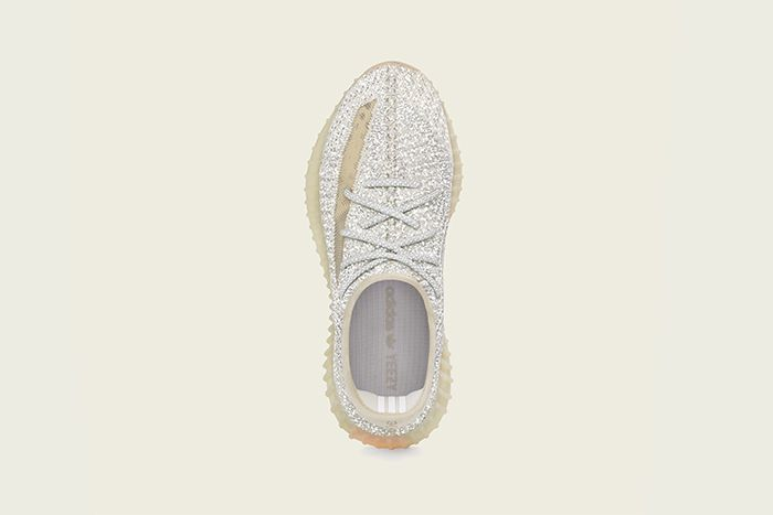 Adidas Yeezy Boost 350 V2 Lundmark Reflective Official Release Date Top Down